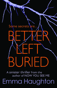 Fiction - Better Left Buried - front cover